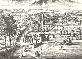 View of Malton in 1728 © North Yorkshire county Library